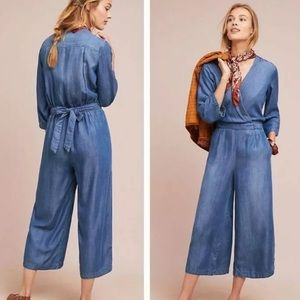 cloth & stone Pants - Cloth & Stone from Anthropologie Chambray Jumpsuit